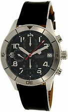 Victorinox Swiss Army Men's 241193 Black Leather Swiss Automatic Watch