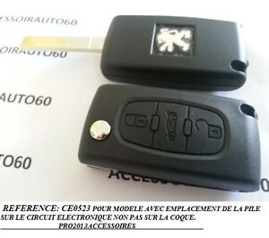 COQUE-BOITIER-CLE-TELECOMMANDE-PEUGEOT-407-607-PARTNER-EXPERT-REFERENCE-CE0523