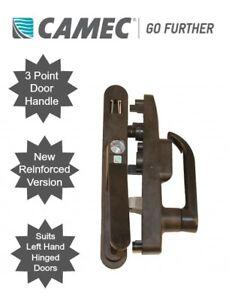 Image is loading Camec-3-Point-Main-Door-Lock-Handle-Left-  sc 1 st  eBay & Camec 3 Point Main Door Lock Handle - Left Hand Hinge | eBay