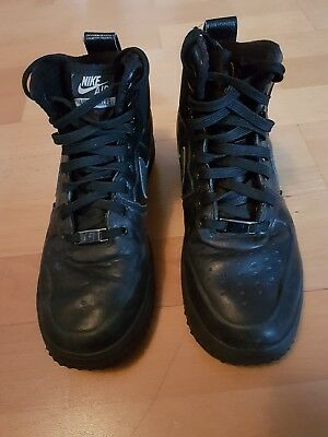 Nike Lunar Air Force 1 One Sneaker Stiefel Gs Black Youth