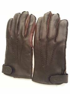 03e3ae55e872e Image is loading Mens-Joseph-Abboud-Gloves-Genuine-Leather-Gloves-Black-