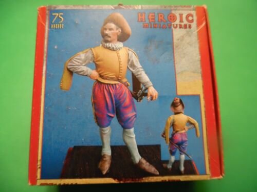 New Heroic Miniatures French Cavalier Metal Figure 75mm kit