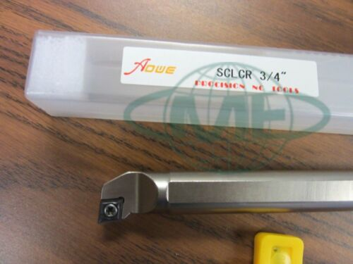 """3//4/"""" Indexable Boring Bar,S-SCLCR12-3,3//4/""""x10/"""" OAL w.CCMT Insert,1004-IDX34-New"""