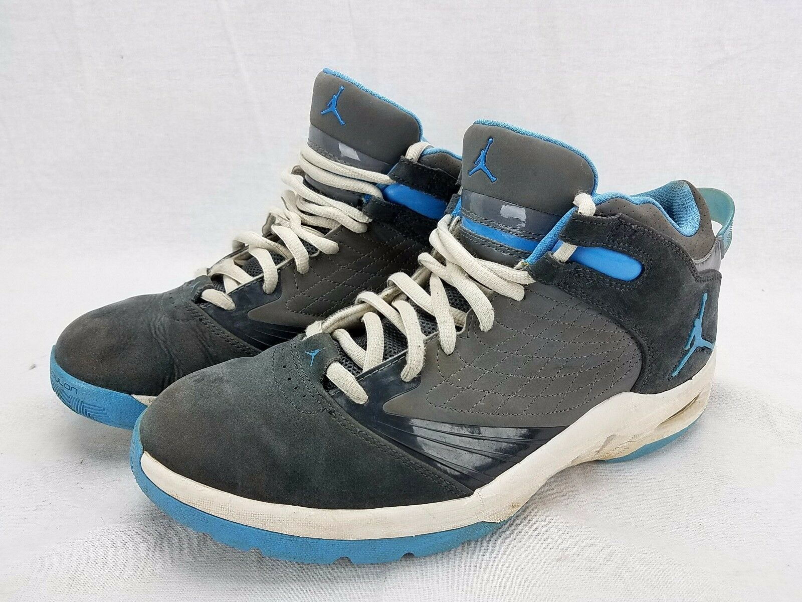 Nike Air Jordan New School Anthracite Univsersity Blue Cool Grey White 469955-00 The latest discount shoes for men and women