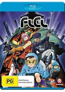 FLCL-COLLECTION-Bluray-R4-Anime-Madman-FREE-SHIPPING
