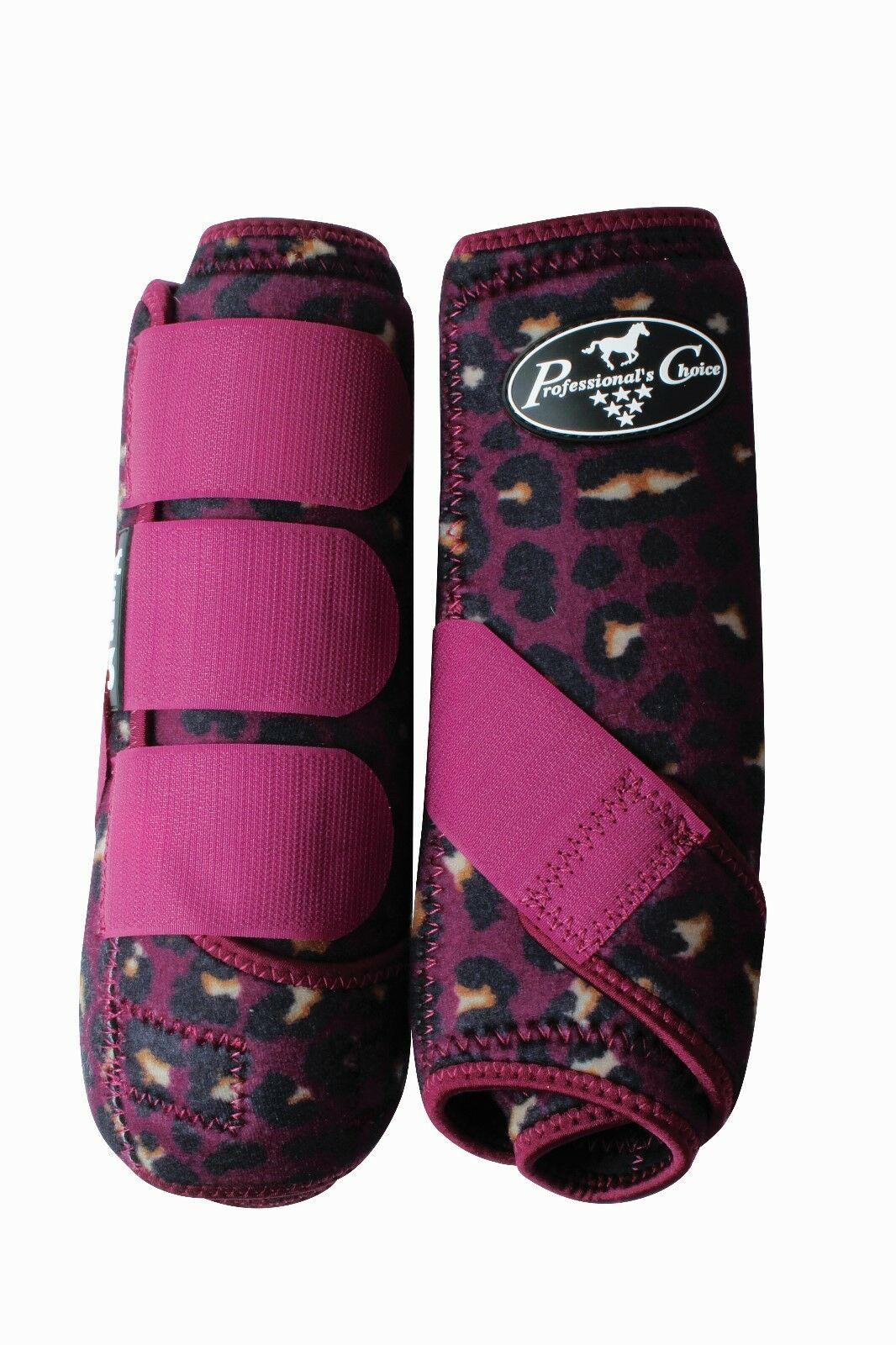Professional's Choice SMB3 Pair Horse Equine SMB Medicine Boots  Cheetah  best prices and freshest styles