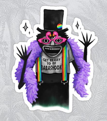 gay pride babadook ruPaul Drag Race yass gay pride Sticker decal car laptop cute
