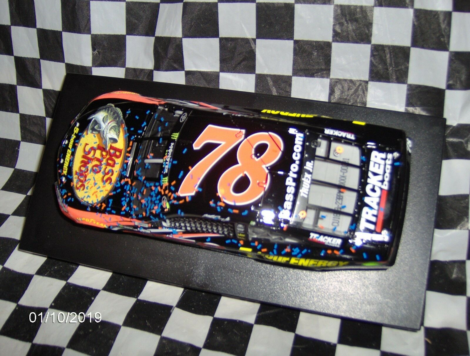 2018 Martin Truex Jr.   78 Bass Pro Pro Pro Shops 5-Hour Energy Auto Club Speedway Win ff88fe