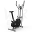 miniatura 3 - Deluxe 2-in - 1 Cross Trainer & Cyclette Allenamento di cardio fitness con sedile