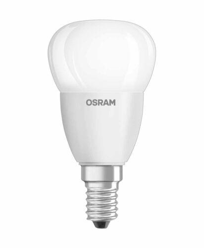 Osram DEL Star Classic P goutte 5 W = 40 W e14 Matt kaltweiß 4000k boule Lampe