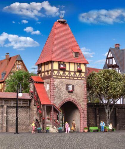 KIBRI 38470 h0 fachwerkturm avec porte