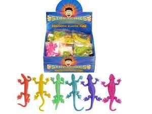 Stretch Sticky Lizard Kid Birthday Party Loot Bag Children Toy