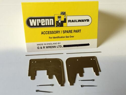 W7321 WRENN model railway A PAIR Brass smoke deflectors