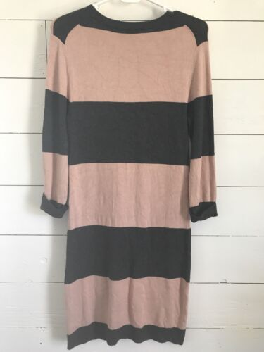 French Stripe Dress Taglia M Block Color Pink Materinity Grey Connection HrwqHT