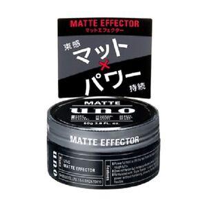 Made-in-JAPAN-Shiseido-UNO-hair-wax-034-Matt-effector-034-80g-green-fruity-fragrance