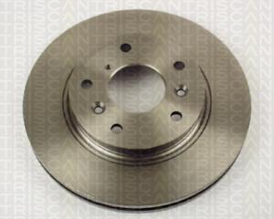 2 pièces TRISCAN 8120 50128 Disque de frein