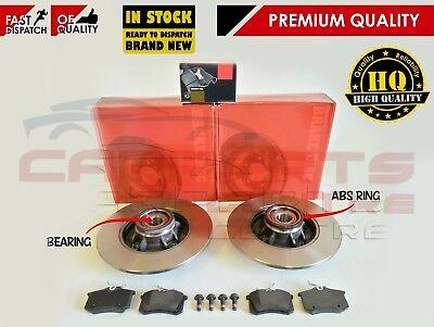 PEUGEOT 207 307 1.4 1.6 2.0 HDI REAR BRAKE DISC BEARING WITH BEARING ABS RING
