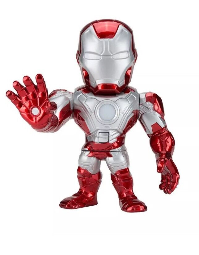 Marvel Loot Crate DX Exclusive 6  Light Up Iron Man Mark V Die-Cast Metal Figure