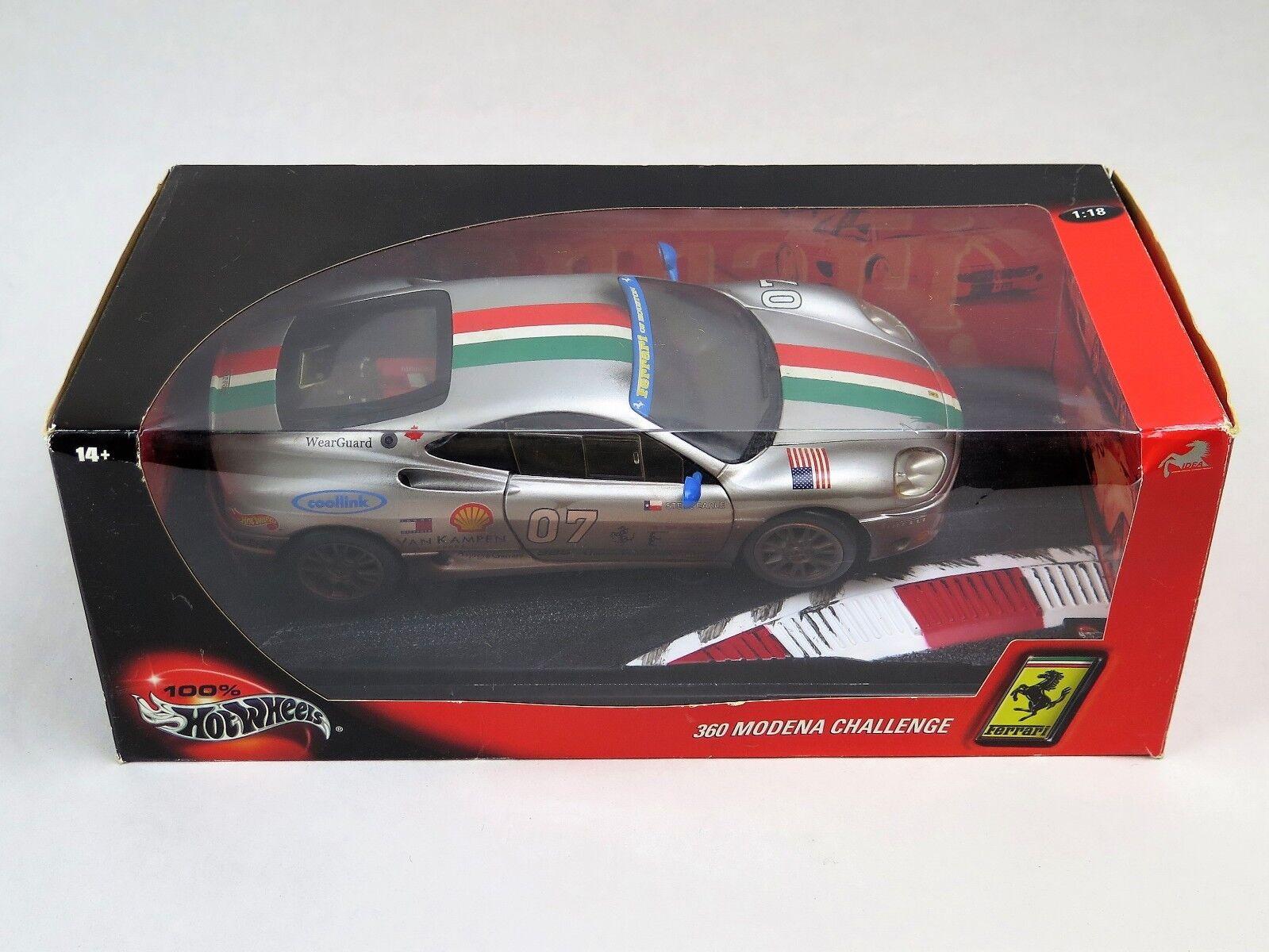 Hot Wheels 29751 Ferrari 360 Modena Challenge No.7 mit OVP