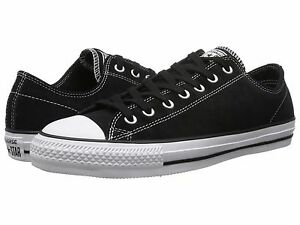 dc77fca48536 Cons 144585C Suede CTAS Pro Ox Black   White Shoes w  Lunarlon MSRP ...