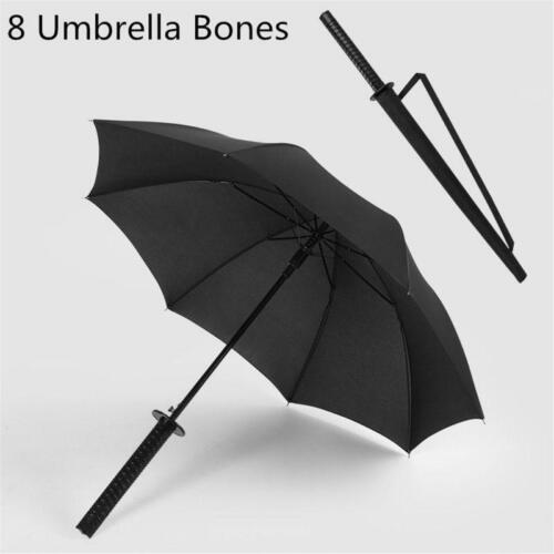 Beautiful Sword Handle Shape Umbrella Ninja Katana Japanese Long Umbrella