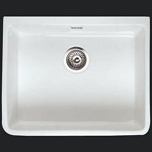 white Belfast butler Kitchen Sink Waste Rak Ceramics White go 2 ...