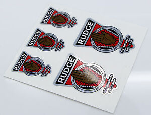 RUDGE-WHITWORTH-Raleigh-Vintage-style-Head-Cycle-Bike-metallic-Stickers