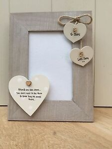 Image Is Loading Shabby Personalised Chic Photo Frame Special Best Friend