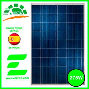 Placa solar panel  fotovoltaico policristalino  275 Wp  AMERISOLAR