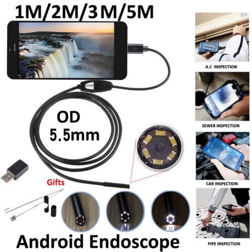5.5Mm Android Endoskop Wasserdichte Endoskop Usb Inspektions Kamera OX