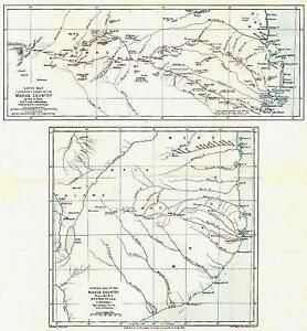 MOZAMBIQUE Makua Country ONeill journey Nampula RGS1882 map eBay