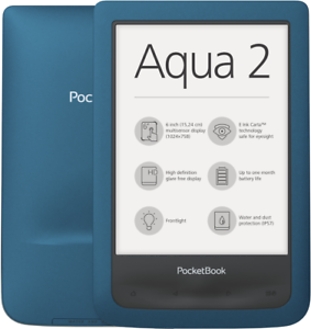 Pocketbook-Aqua-2-azure-8GB-E-Book-Reader-6-034-Touchscreen-WLAN-MP3-Player