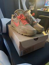 Nike Air Max 90 OFF-WHITE Desert Ore AA7293-200 Men's Size 9.5