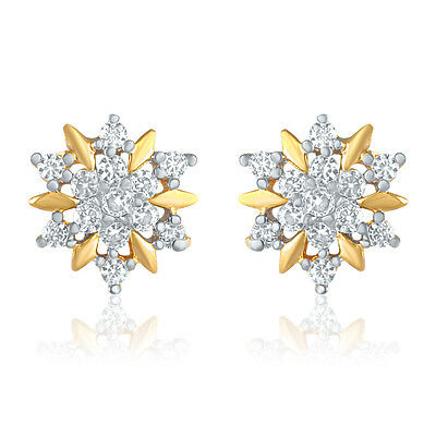 Gold Plated Earrings with CZ for Women ER9175 by Mahi