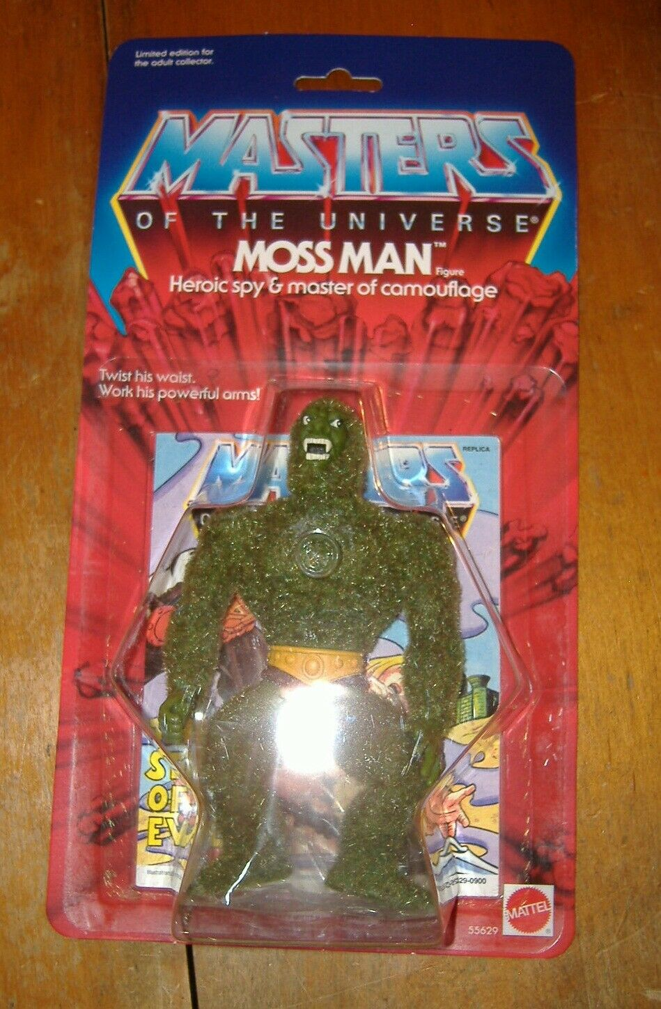 HE-MAN COMMEMORATIVE MOTU MOSS MAN LIMITED EDITION SEALED NEW