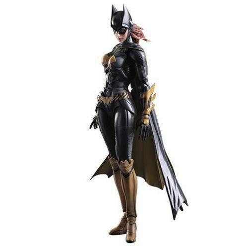Officially Licensed Arkham Knight Batgirl Play Arts Kai Action Figure