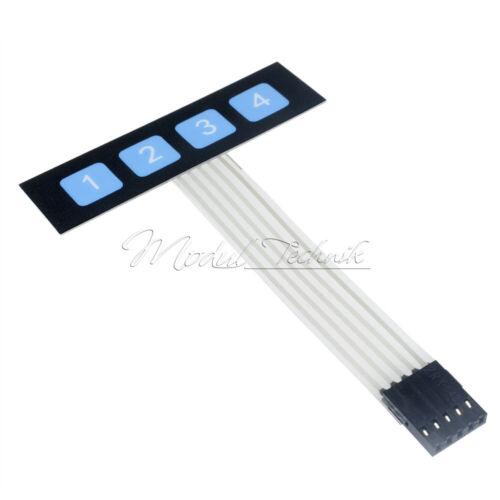 4x4//4x3//4x5//1x6//1x4 Keys Matrix Keyboard Array Membrane Switch Keypad Keyboard