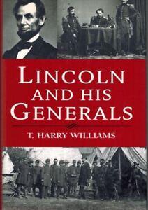 Lincoln-And-His-Generals-T-Harry-Williams-2000-Civil-War-Hardback