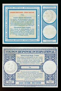 GB REPLY PAID COUPONS 1968 HOUSE of COMMONS POSTMARKS on LONDON + VIENNA TYPES