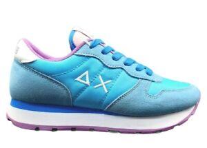 Scarpe da donna SUN 68 ALLY Z31201 sneakers basse casual sportive comode azzurro