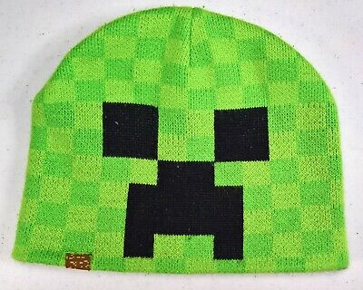 Ufficiale Jinx Minecraft Creeper Sprite Fold Beanie HAT YOUTH Fit