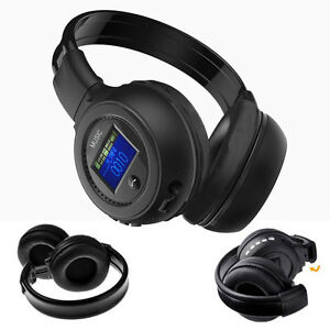wireless bluetooth 3 0 ensemble st r o casque d 39 coute avec micro appel. Black Bedroom Furniture Sets. Home Design Ideas