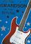 PETIT-FILS CARTE D/'ANNIVERSAIRE BLEU NICE verset F1 musique guitare électrique thème