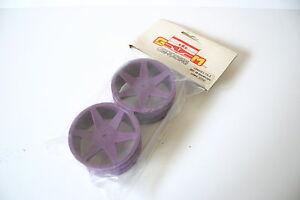 GM-Racing-Purple-Front-Wheels-For-Schumacher-CAT-2000-amp-3000-14mm-Hex-GM6817LI