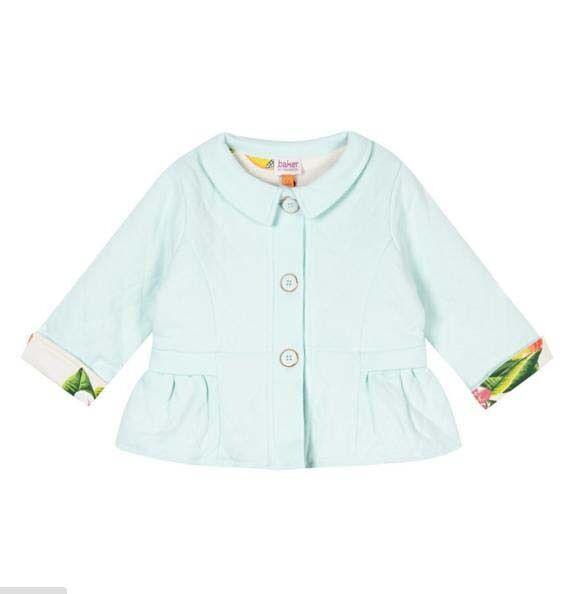 bfab914c8e3d2 Ted Baker Baby Girls Cardigan Jacket Green DESIGNER Newborn Gift 0-3 ...