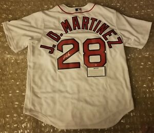 b8d5c5655 Image is loading JD-Martinez-Signed-Majestic-Authentic-Boston-Red-Sox-