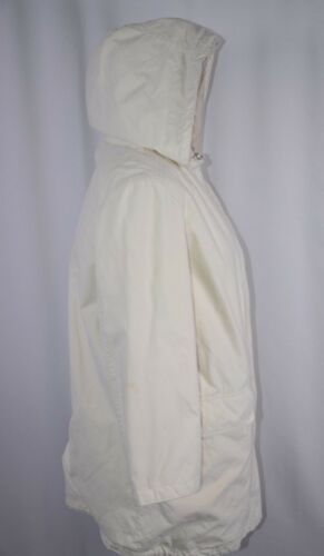 Boho Casual Off Small Calvin Coat Hooded White Dame Outdoor Klein Størrelse Jacket wTqRCZ8xf