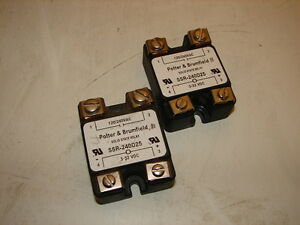 Lot Of 2 Potter /& Brumfield SSR-240D25 Solid State Relays