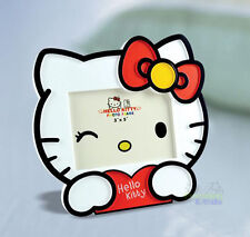 "New Cute For Red Hello Kitty 5"" Kids Home Family Photo Picture Frame Holder"