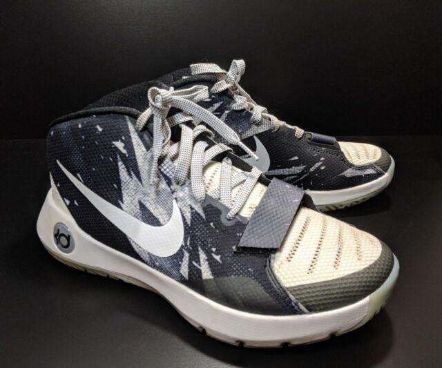 low priced 5b685 53ab1 Nike KD Trey 5 lll Men's Sz 8 Med Mid Top Basketball Shoes Black White  (tu30ep)
